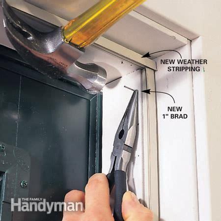 Interior Door Weather Stripping How To Stop Door Drafts Around Entry Doors Door Sweep Door Draft And Steel Doors