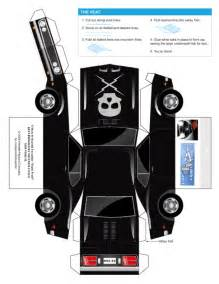 paper cars template papercraft proof car paper fr