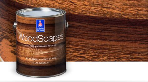woodscapes exterior house stains sherwin williams