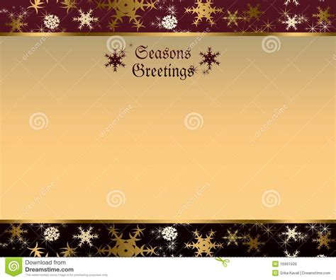 seasons greetings background stock illustration image