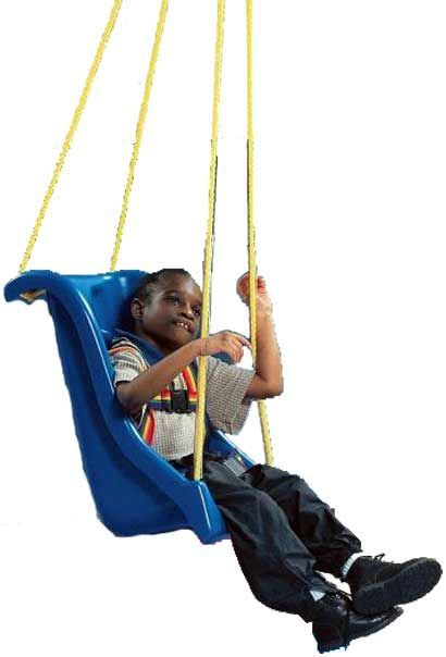 swing for child with disabilities special high back swing cp pinterest
