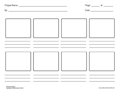 tv ad storyboard template printable flow map click here template strybrd 8panels