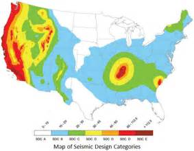 us seismic design category map faqs