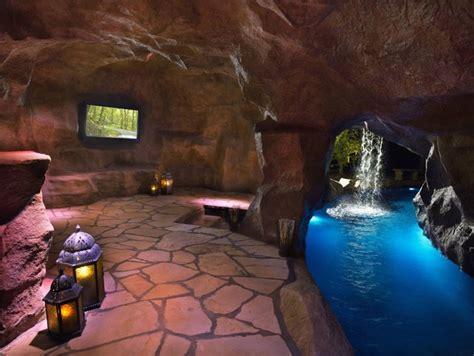 hgtvs cool pools scuba pool swim  grottos lazy