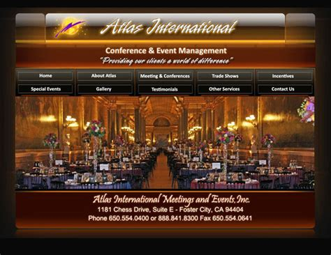 Design Event Management | events management websites events management website