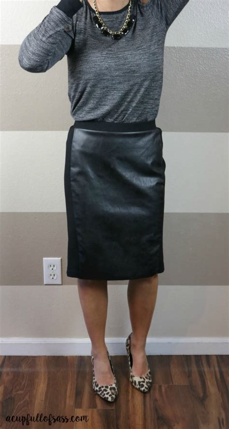 Topi Leather Faux january stitch fix review 7 a cup of sass