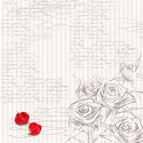Wedding Background Letter by Watercolor Flower Background Flower