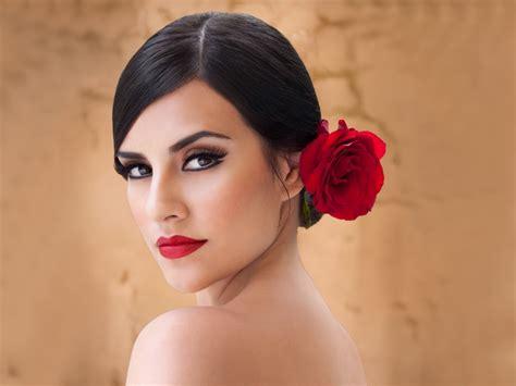 hairstyles for spanish women spanish woman by mariaanitta deviantart com on deviantart