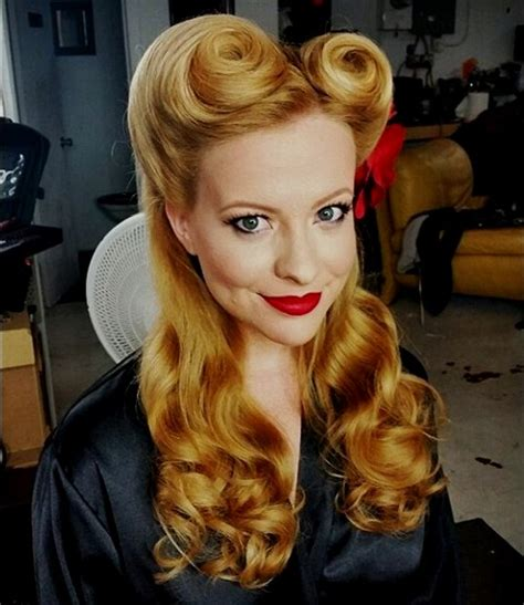 Pin Up Hairstyles Hair by 40 Pin Up Hairstyles For The Vintage Loving