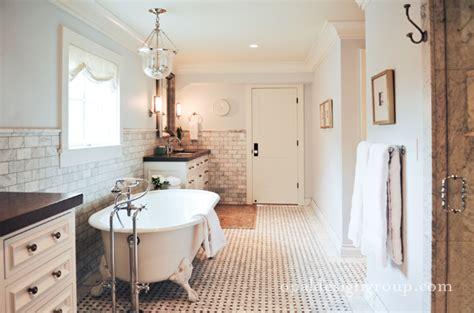 4 Foot Bathroom Vanity Claw Foot Tub Transitional Bathroom Opal Design Group