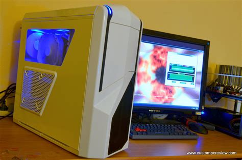Cool Desk Clocks by Nzxt Phantom 410 Case Review Custom Pc Review