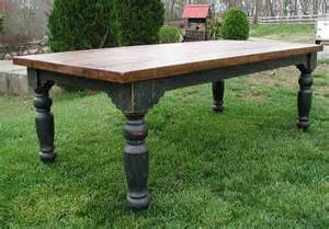 Kitchen Island Legs Unfinished the louden stockton farm table in black for the home