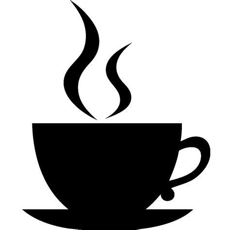 coffee cup silhouette png stickers ardoises sticker ardoise design tasse