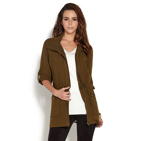 Sleeve Parka by Raglan Sleeve Parka Jacket Shoedazzle