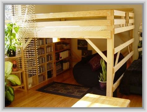 adult loft bed built in loft beds for adults