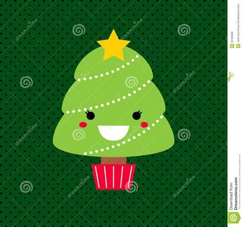 imagenes de arboles de navidad kawaii 193 rbol adorable de kawaii de la navidad de la historieta