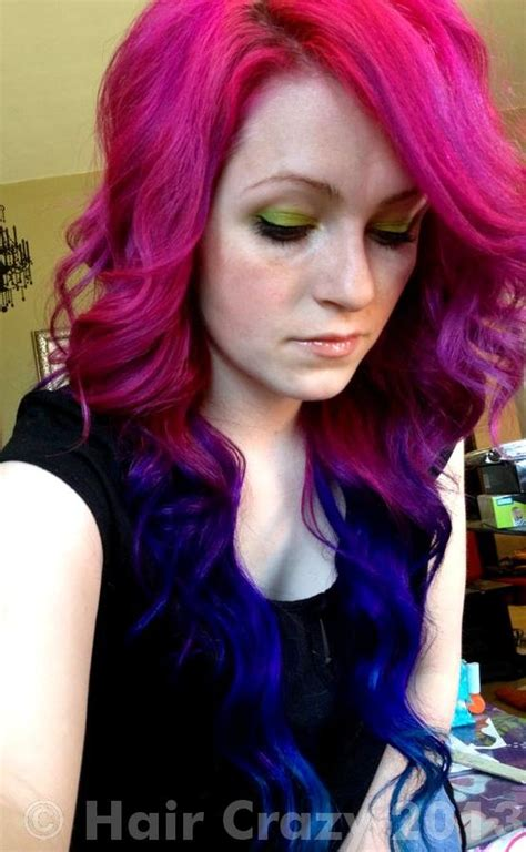 pink purple and blue ombre forums haircrazy