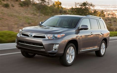 2013 Toyota Highlander Mpg 2013 Toyota Highlander Hybrid Photo 1