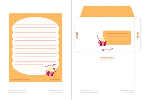 letter writing paper and envelopes merryprintables printable writing papers envelopes