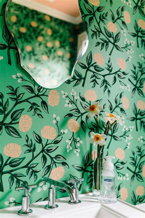 botanical print wallpaper decorating with retro wallpaper 32 eye catchy ideas