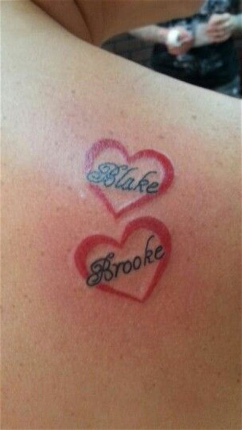 small tattoos with kids names 17 best images about ideas on initials