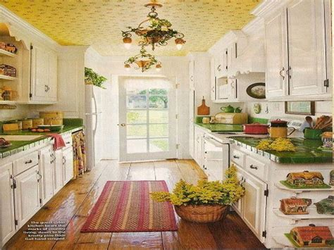 Vintage Cottage Style by Country Cottage Kitchen Designs Design Ideas Pictures