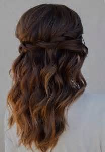 Easy curly half up down hairstyles free printable hairstyles