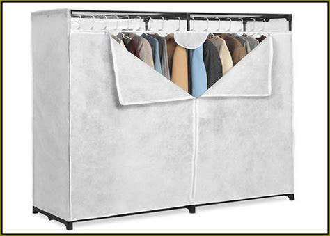portable wardrobe closet walmart home design ideas