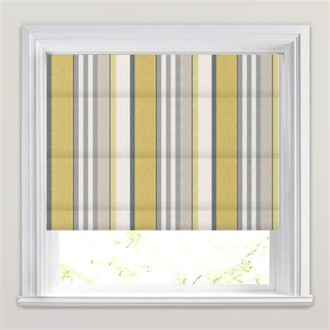Grey And White Striped Blinds golden yellow lime grey taupe white striped blinds