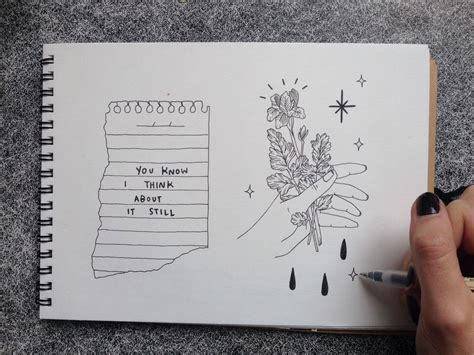 Drawing Journal by Your Voice Makes Flowers Grow Cuadernos
