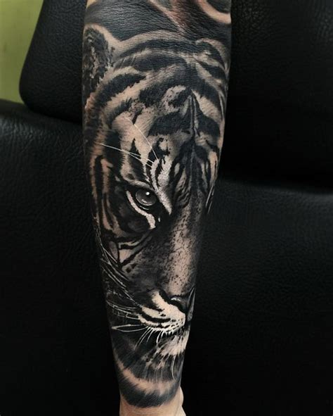 black and grey tiger tattoo designs 60 awesome tiger designs with meanings