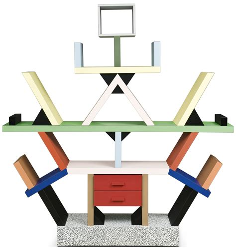 libreria sottsass an ettore sottsass bookcase quot carlton quot by italy