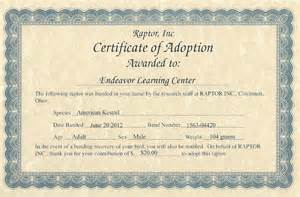 Child Adoption Certificate Template Adoption Certificate For Cake Ideas And Designs