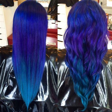 peacock hair color peacock color melt hair colors ideas