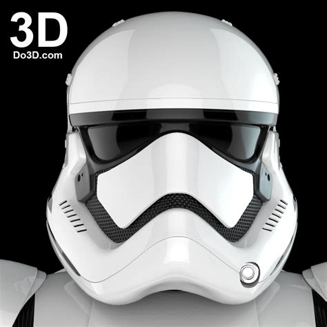 printable star wars helmet 3d printable model of stormtrooper first order costume
