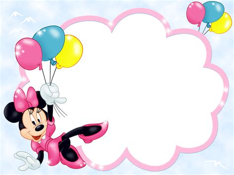 Setelan Anak Minnie Polka 3in1 transparent frame with minnie mouse and balloons gallery yopriceville high quality