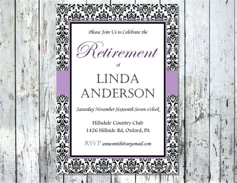 Retirement Card Template For Word by Template Retirement Template