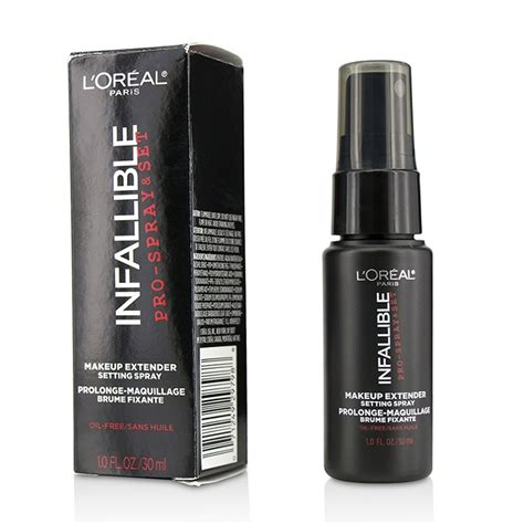 Loreal Snaps Up Organics by Infalliable Pro Spray Set Makeup Extender Setting Spray