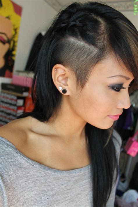what is the shaved sides and longer on top hairstyle called best 25 shaved side hair ideas on pinterest shaved side