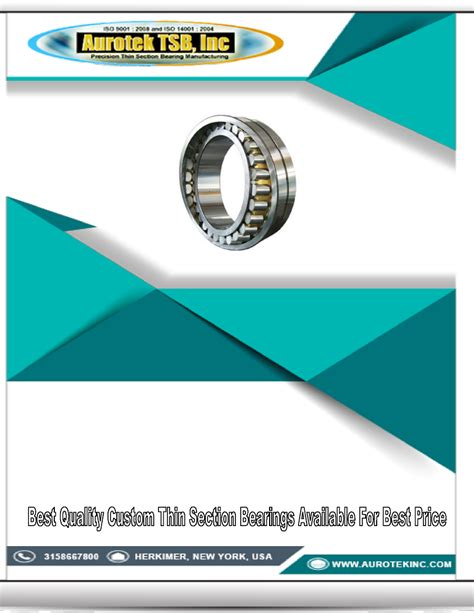 quality thin sections best quality custom thin section bearings available for