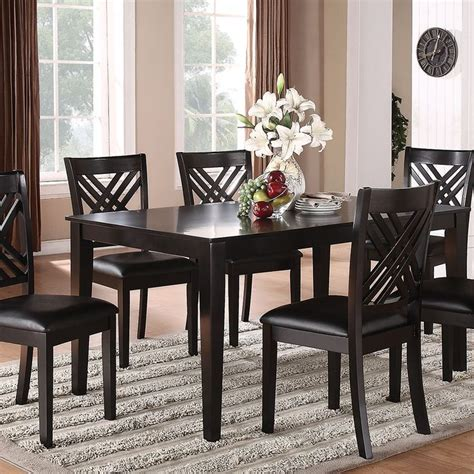 Casual Dining Room Table Black Dining Collection Haynes Dining Pinterest Casual Dining Rooms