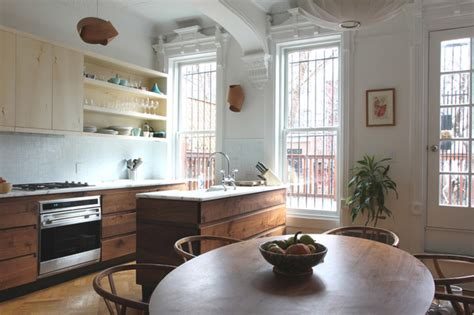 green kitchen park slope park slope brownstone contemporary kitchen new york