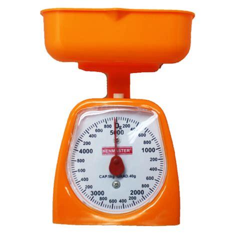 Timbangan Kue Kenmaster kenmaster timbangan kue 5 kg orange elevenia