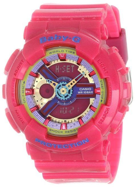 Casio Baby G Ba 110 Glossy Pink 1000 images about g shock watches on