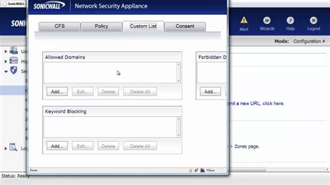 pictures websites block website access with sonicwall firewall