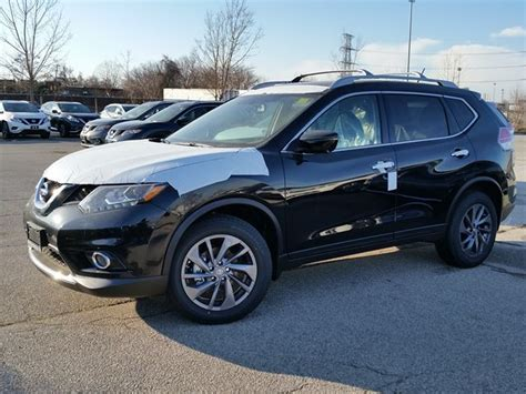 black nissan rogue 2016 2016 nissan rogue sl awd black sherway nissan car