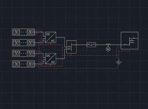 Solar Single Line Diagram Template