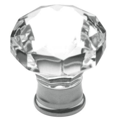baldwin flat faceted 1 3 16 in polished chrome