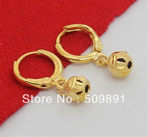 Anting Tusuk Model Item Brand Stud Earrings buy wholesale 24 carat gold earrings from china 24