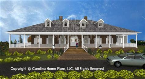 house plans for a view 3d image for chp sp 3581 ga southern plantation 3d house